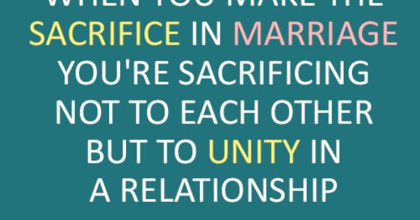 Joseph Campbell Quote (About Unity Sacrifice Relationship