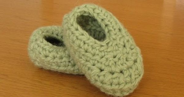 VERY EASY basic crochet booties tutorial - booties for ...