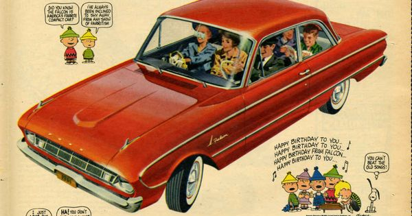 Falcon 61 print advertisement ford motor company for Ford motor company museum