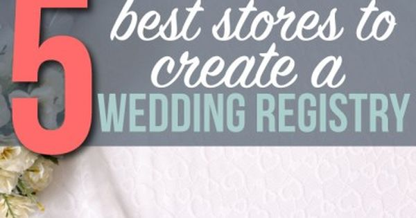 5 best stores to create a wedding registry the o 39 jays for Best store for wedding registry