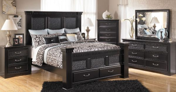 love cavallino king mansion bedroom by ashley our home pinterest mansion bedroom and. Black Bedroom Furniture Sets. Home Design Ideas