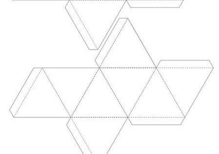 DIY Geometrical Box Templates DIY. Download pdf templates.