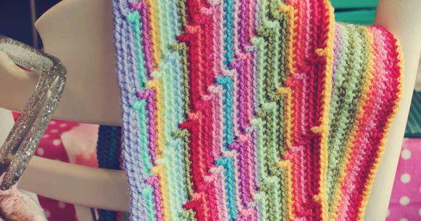 groovy afghan crochet pattern | Crochet Afghan Patterns