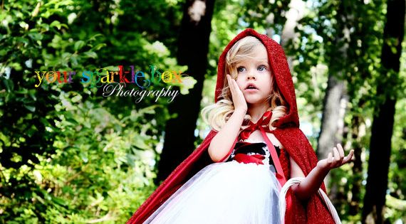 little red riding hood tutu dress halloween costume