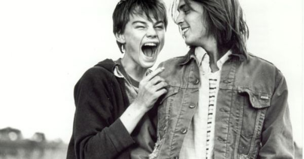 leonardo dicaprio and johnny depp 1993. omg, two of my favorite people