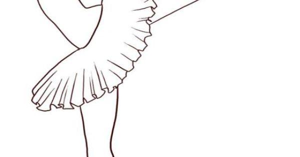 How to draw a ballerina step 710000000082275 IColor Ballerinas