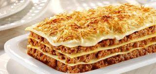 طريقة تحضير لازانيا باللحم Lasagna Food Lasagna Recipe
