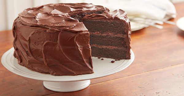 "HERSHEY'S ""PERFECTLY CHOCOLATE"" Chocolate Cake- I use Cup4Cup flour in this. It"