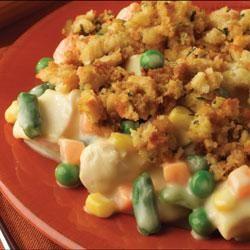 Easy Chicken Bake Recipe Recipe Recipes Baked Chicken Recipes Stuffing Casserole