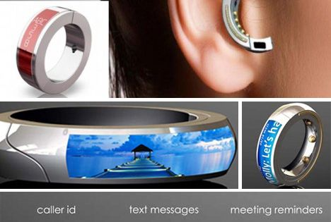 THE ORB. This mobile headset doubles as a ring and can be