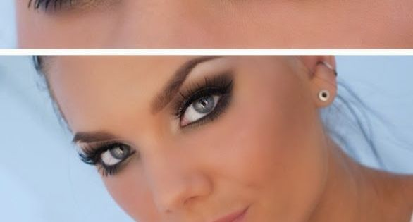 How to do Bridal Eye Makeup? (If you want a smokey eye-