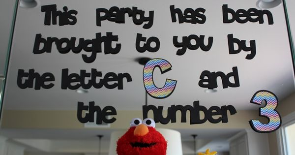 Elmo, Sesame street, rainbow Birthday Party Ideas | Photo 12 of 30