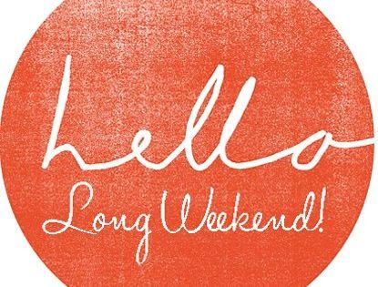 weekend holiday