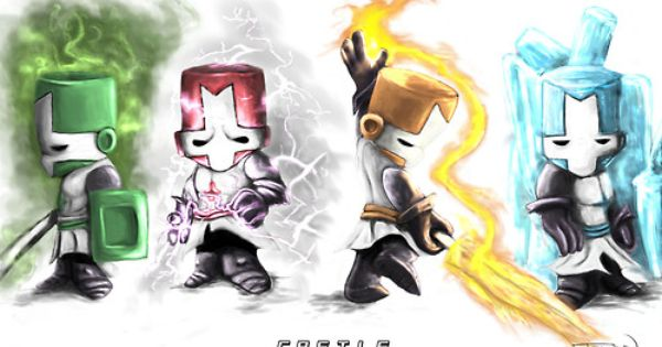 Awesome Castle Crashers Fanart Castle Crashers Art Castle