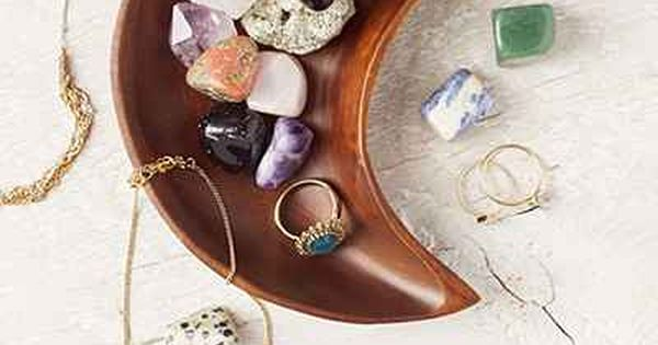 these gemstones remind me of AZ <e Crescent Moon Catch-All Dish -