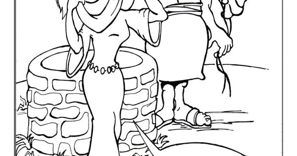 jacob and rachel coloring pages - photo#8