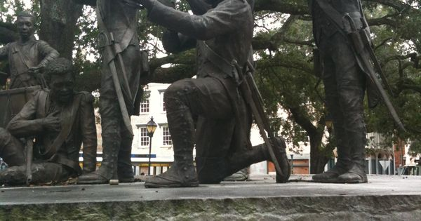 Monument honoring Haitians who came to fight during the ...