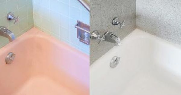 Tips From The Pros On Painting Bathtubs And Tile Painting Bathtub Diy Bathroom Diy Home Improvement