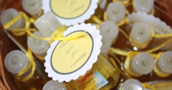 Cute Baby Shower Favor Anti Bacterial Hand Sanitizer Baby