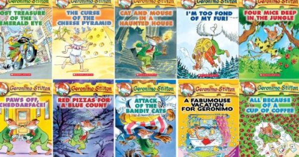 Geronimo Stilton Series Starter Pack Includes Books 1 10 Geronimo Stilton By Geronimo Stilton Http Www Amazon Geronimo Stilton Geronimo Kids Chapter Books