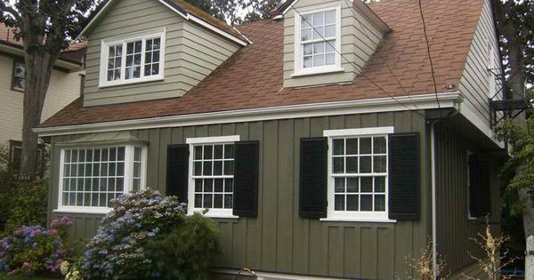 Exterior paint ideas with red brown roof house colors Classic red paint color