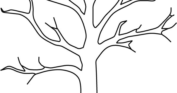 apple tree without leaves coloring pages  okulöncesi