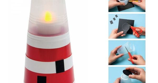Mini Lighthouse Crafts Ideas To Do With The Kids