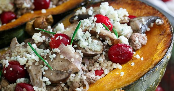 Wild mushrooms, Couscous and Fresh cranberries on Pinterest
