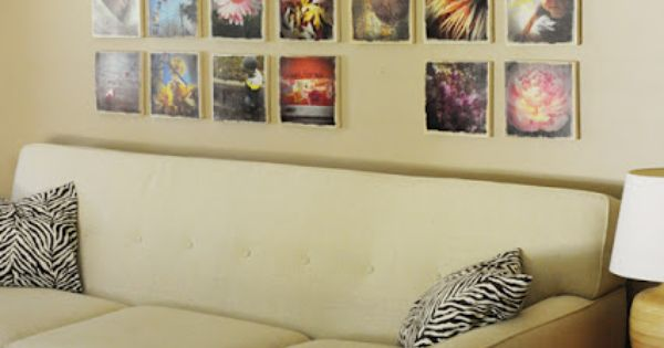 top 10 ways to display photos on canvas