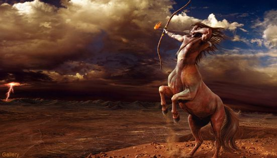 Centaurs Are A Well Known Race Of Mythology Creatures Who