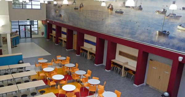 interior design for portree high school canteen ideas for the house pinterest canteen. Black Bedroom Furniture Sets. Home Design Ideas