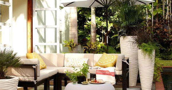 Ideas para la terraza decoraciones de exteriores - Decoracion exteriores terrazas ...