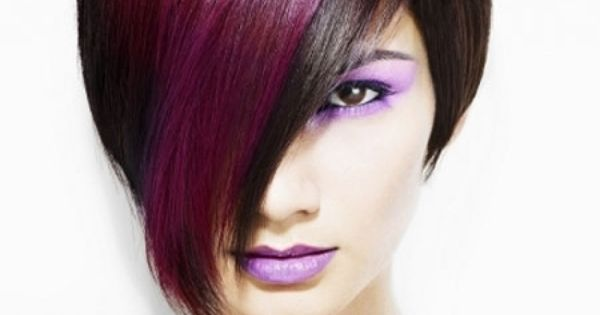 Two Tone Hair Styles Hairstyles And Tips Pinterest Hair Style Hair Coloring And Short Hair