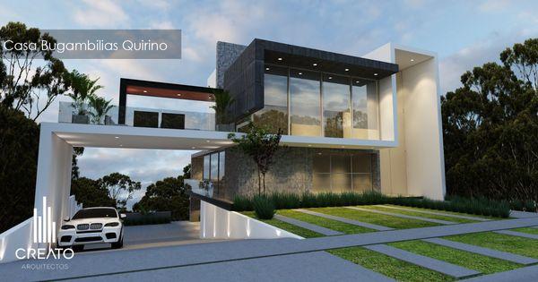 Casa en bugambilias creato arquitectos pinterest - Arquitectos casas modernas ...