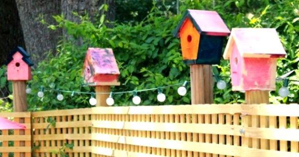 Birdhouse Painting Ideas