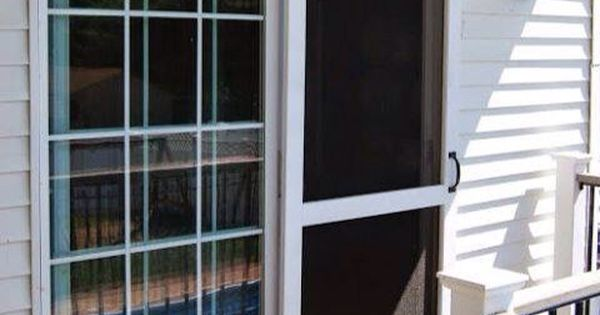Sliding screen door like a barn door barn door ideas for Barn door screen door