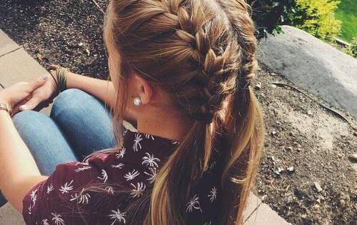 Peinados para chicas con poquito cabello peinados - Chicas con trenzas ...