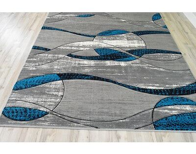Orren Ellis Ilkley 3d Effect Thick Modern Contemporary Abstract Turquoise Area Rug Wayfair In 2020 Area Rugs Modern Contemporary Rug Design