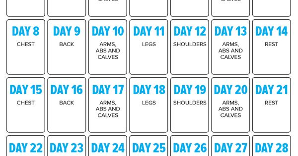 30 days out is for those of you who want to look your best