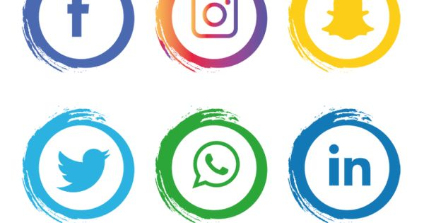 Social Media Icons Set Facebook Social Media Clipart Facebook Icons Social Icons Png And Vector With Transparent Background For Free Download Social Media Icons Social Media Logos Media Icon