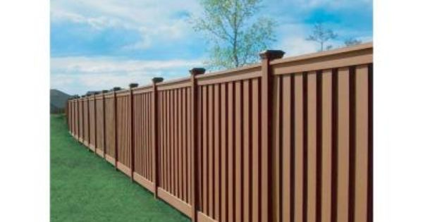 Trex Seclusions 90 1 2 In X 4 In X 72 In Saddle Privacy Fence Kit Tfssect68 At The Home Depot Privacy Fence Panels Fence Design Privacy Fence Designs