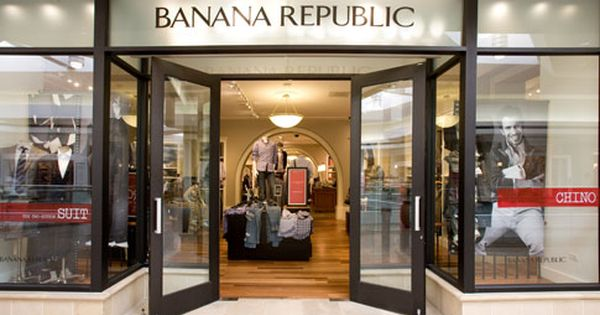 Banana Republic Banana Republic Shop Fronts Retail Store Display