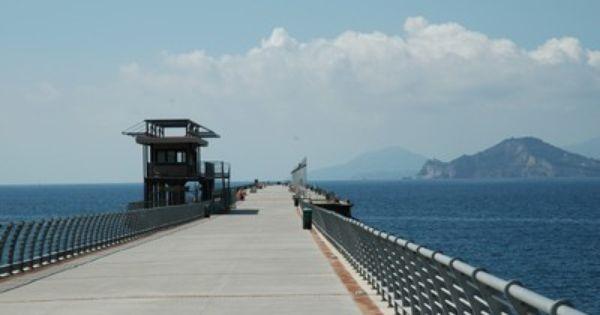 Naples Pier Bagnoli Napoli Pontile Di Bagnoli Napoli
