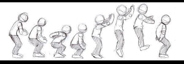 Animation Jump Sequence By Crystalstarspirit On Deviantart Jump Animation Animated Drawings Animation Storyboard