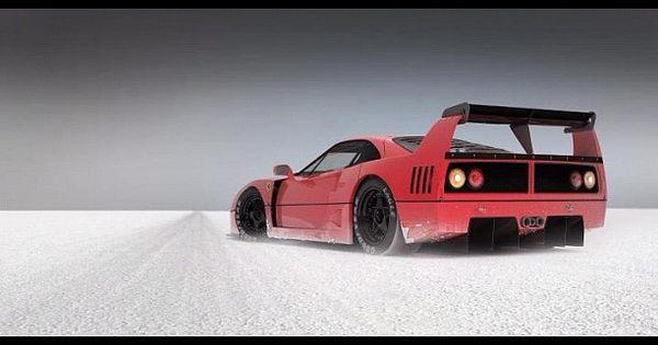 An 80's classic, a Ferrari F40 LM