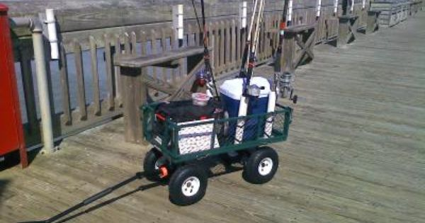 Check out how our northern tool customer uses this heavy for Homemade fishing cart