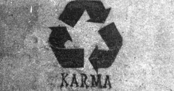 Reduce Reuse Recycle = KARMA tattoo