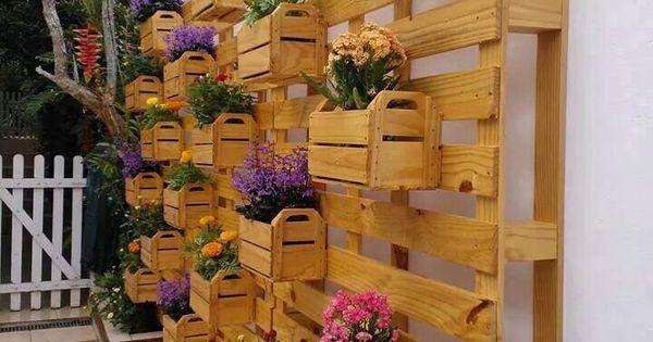 Fioriere idee per la casa pinterest fioriere for Idee fioriere giardino
