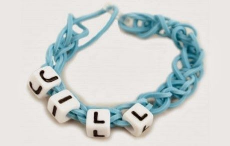 Personalized Rubber Band Bracelets With No Loom At