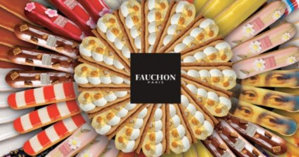 Fauchon Eclairs - that's just showing off but beautiful nonetheless.